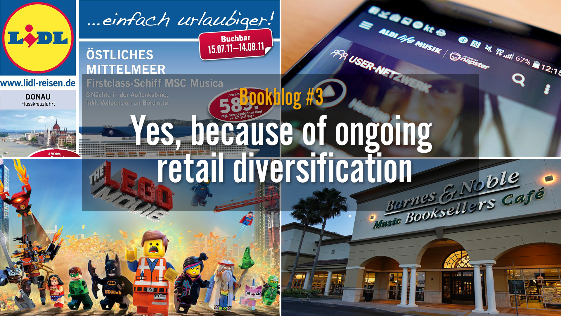 Diversity and mixed channels bring life to retailers