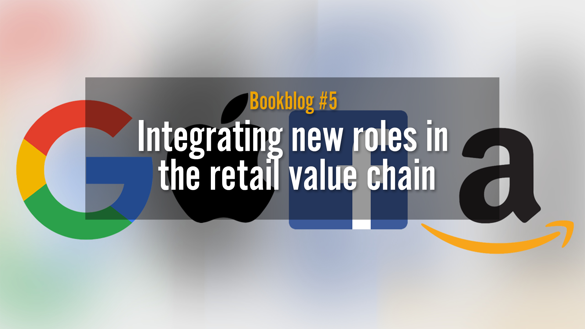Retail roleplay, changes in the value chain