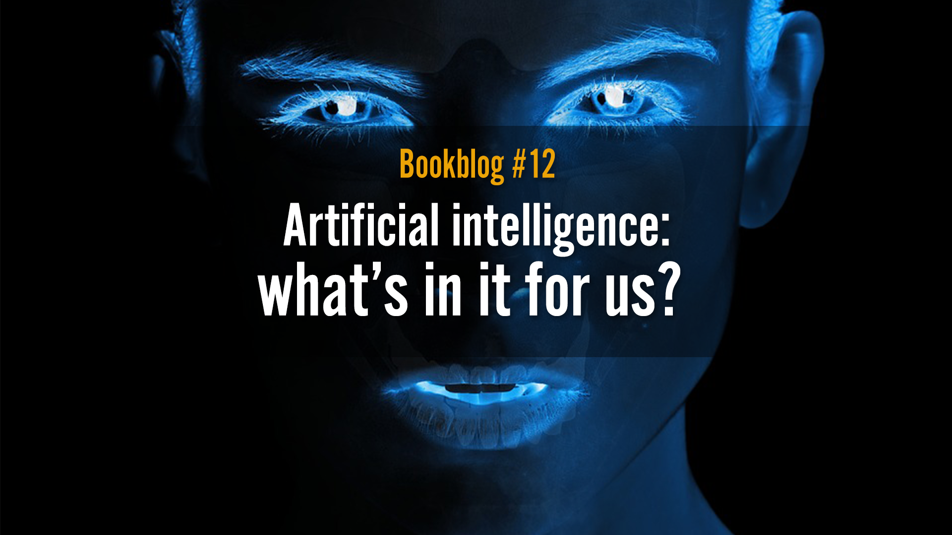 Artificial intelligence: what's in it for us?
