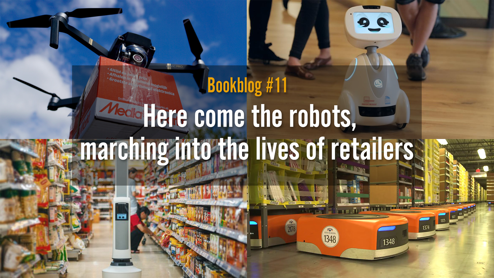Here come the robots, marching into the lives of retailers