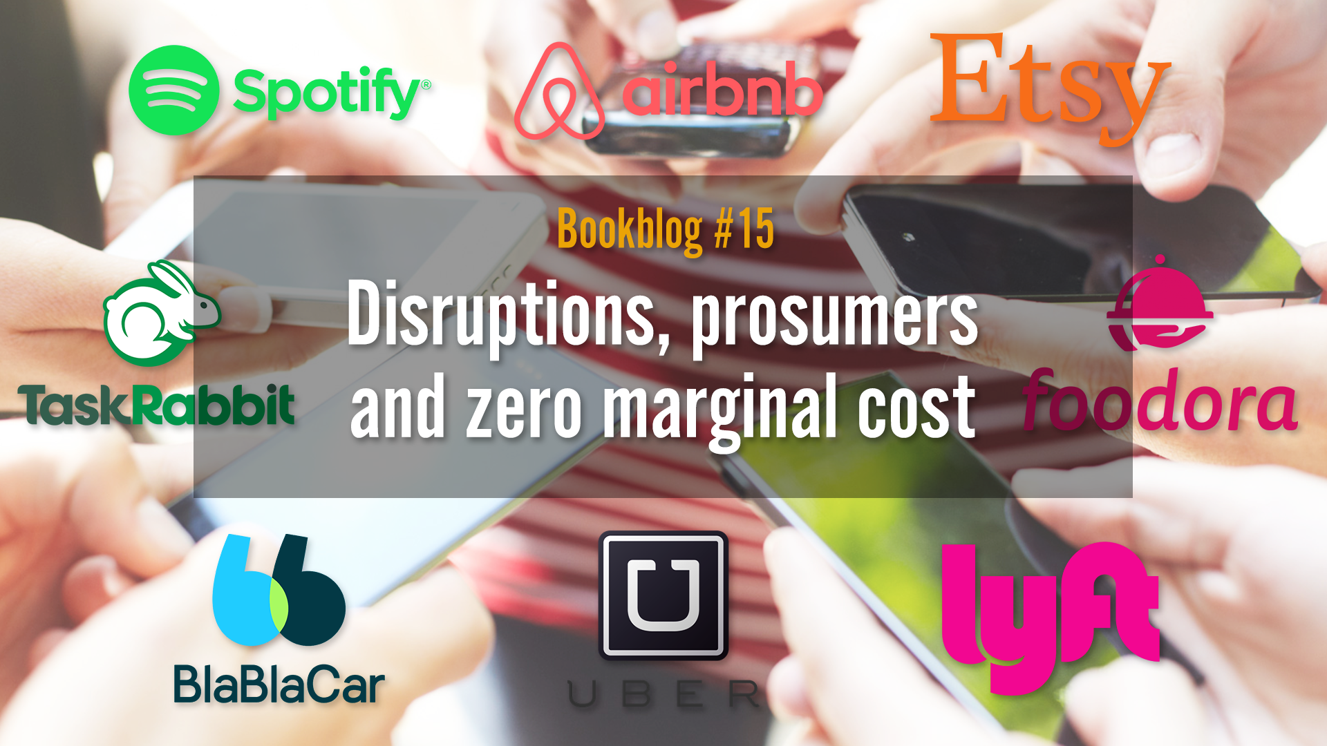 Disruptions, prosumers and zero marginal cost