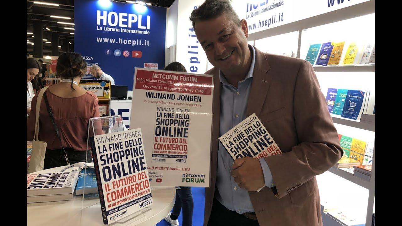 Italian Edition Booklaunch – Netcomm Forum Milano Italia