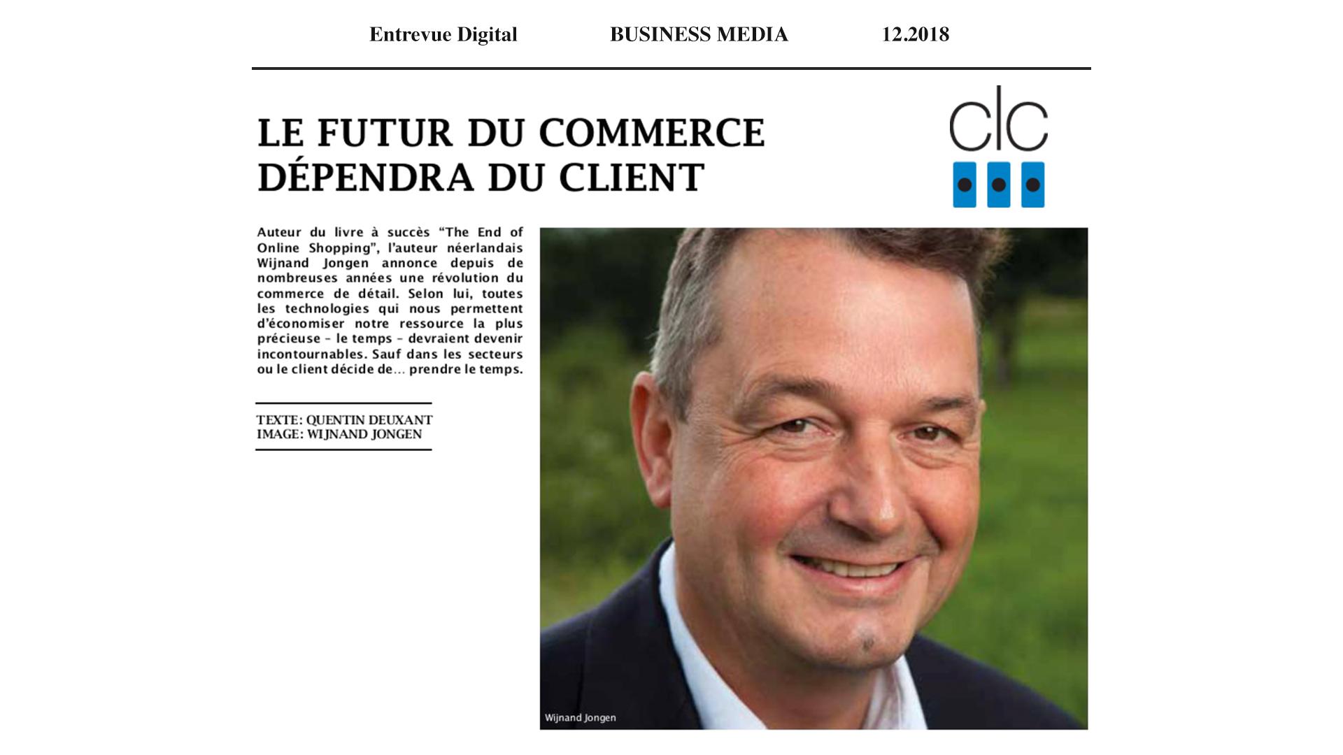 CLC-Connect Article – Le Futur du Commerce Dépendra du Client
