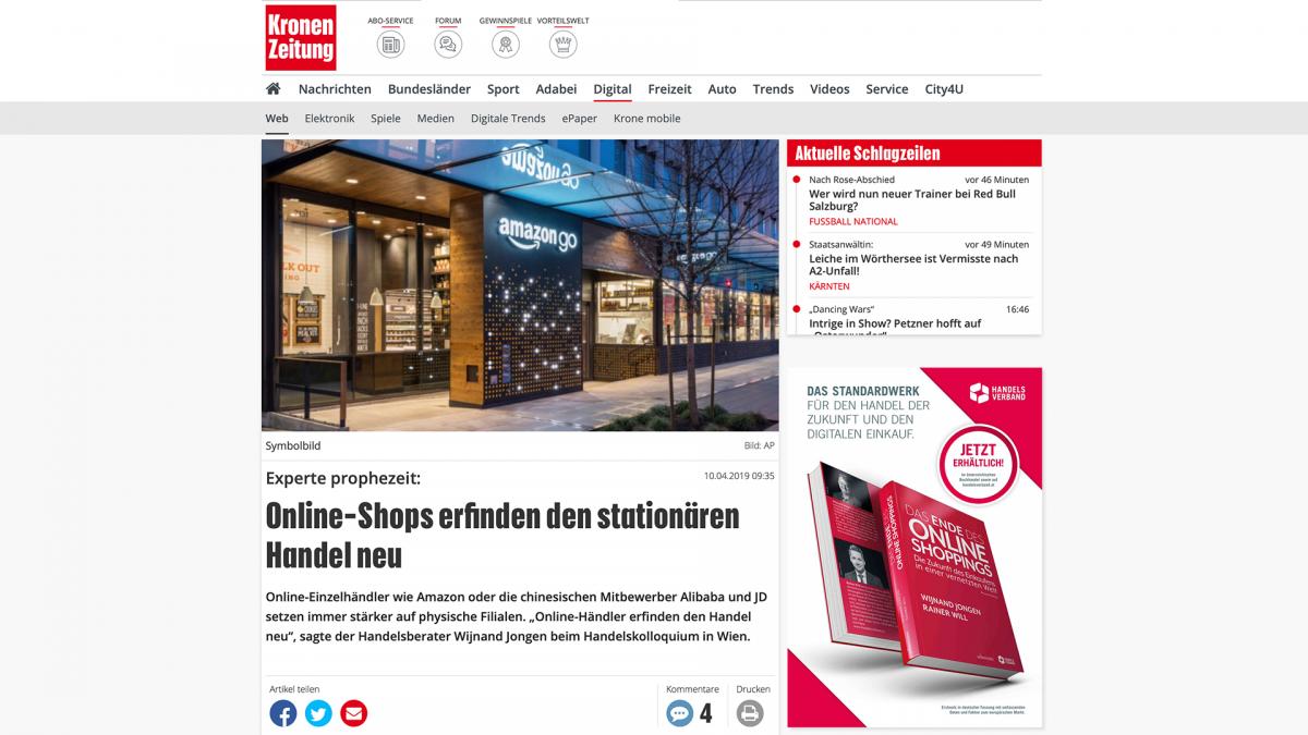 Kronen Zeitung Wijnand Jongen