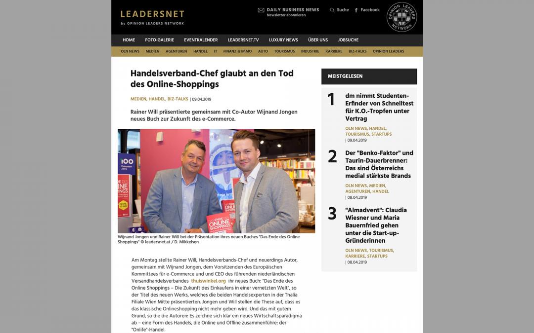Handelsverband-Chef glaubt an den Tod des Online-Shoppings – Article Leadersnet