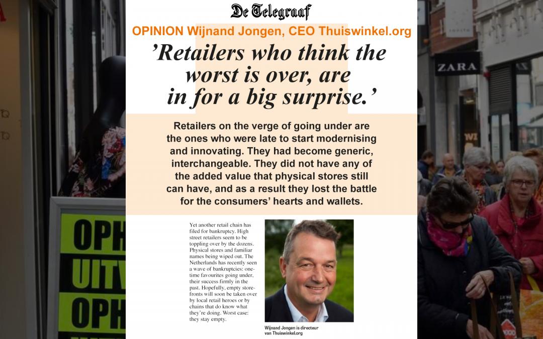 The merciless consumer – Opinion in De Telegraaf