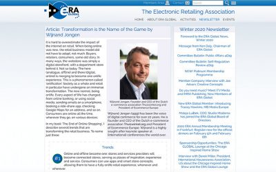 Transformation is the Name of the Game | The Electronic Retailing Association