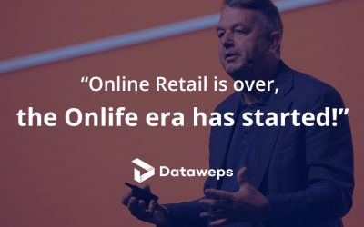 """Online Retail is over, the Onlife era has started!"" 