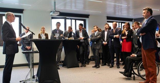 EU President Van Rompuy opent nieuw Ecommerce Europe kantoor in Brussel