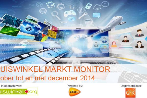 Thuiswinkel Markt Monitor voorkant rapport okt tm december 2014