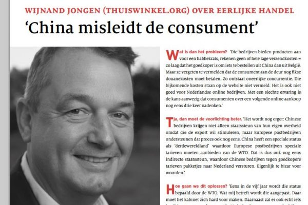 Forum interview - China misleidt de consument