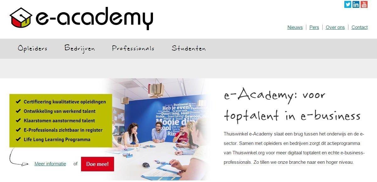 e-academy website