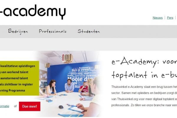 e-academy website