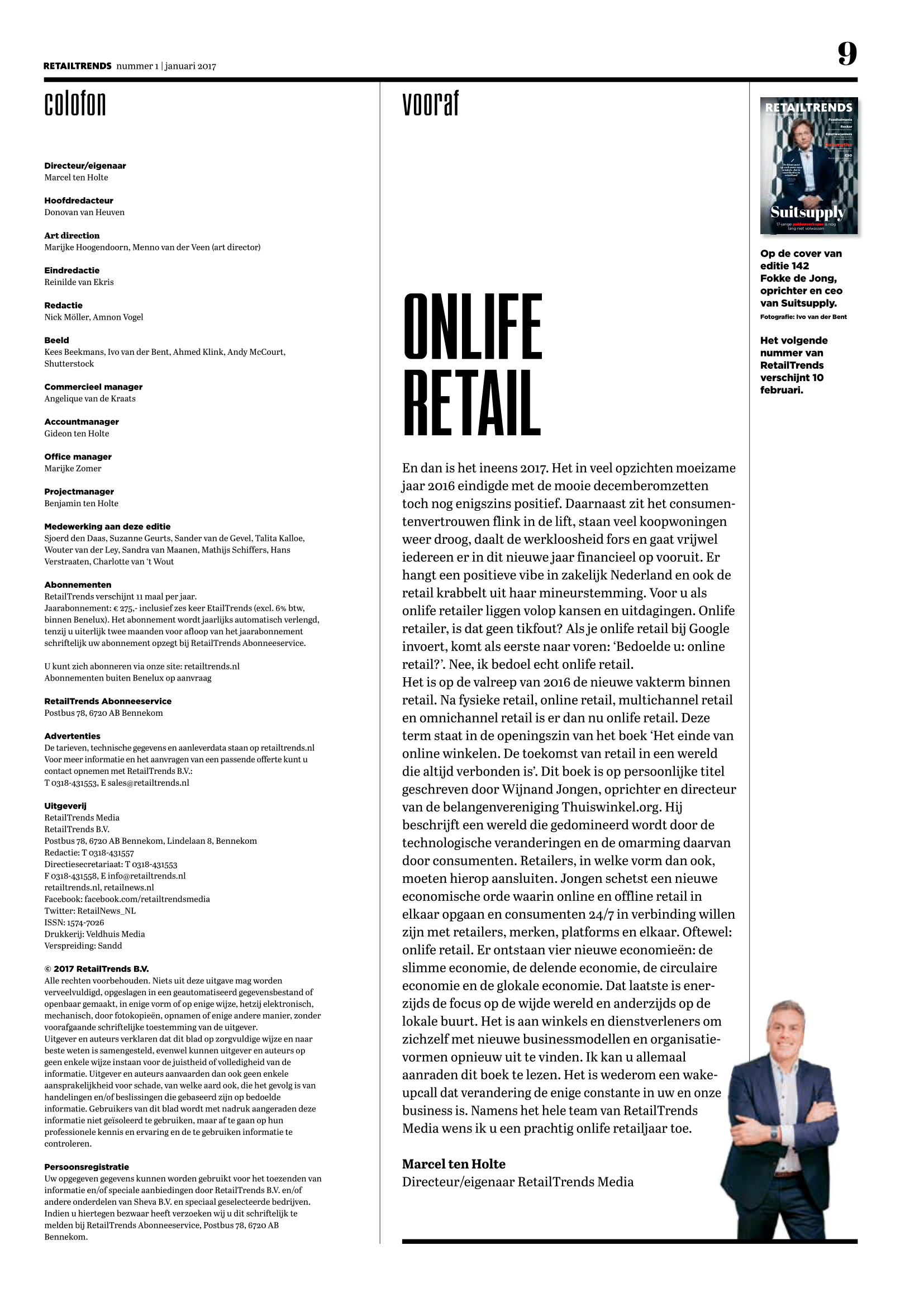 Onlife Retail door Marcel ten Holte