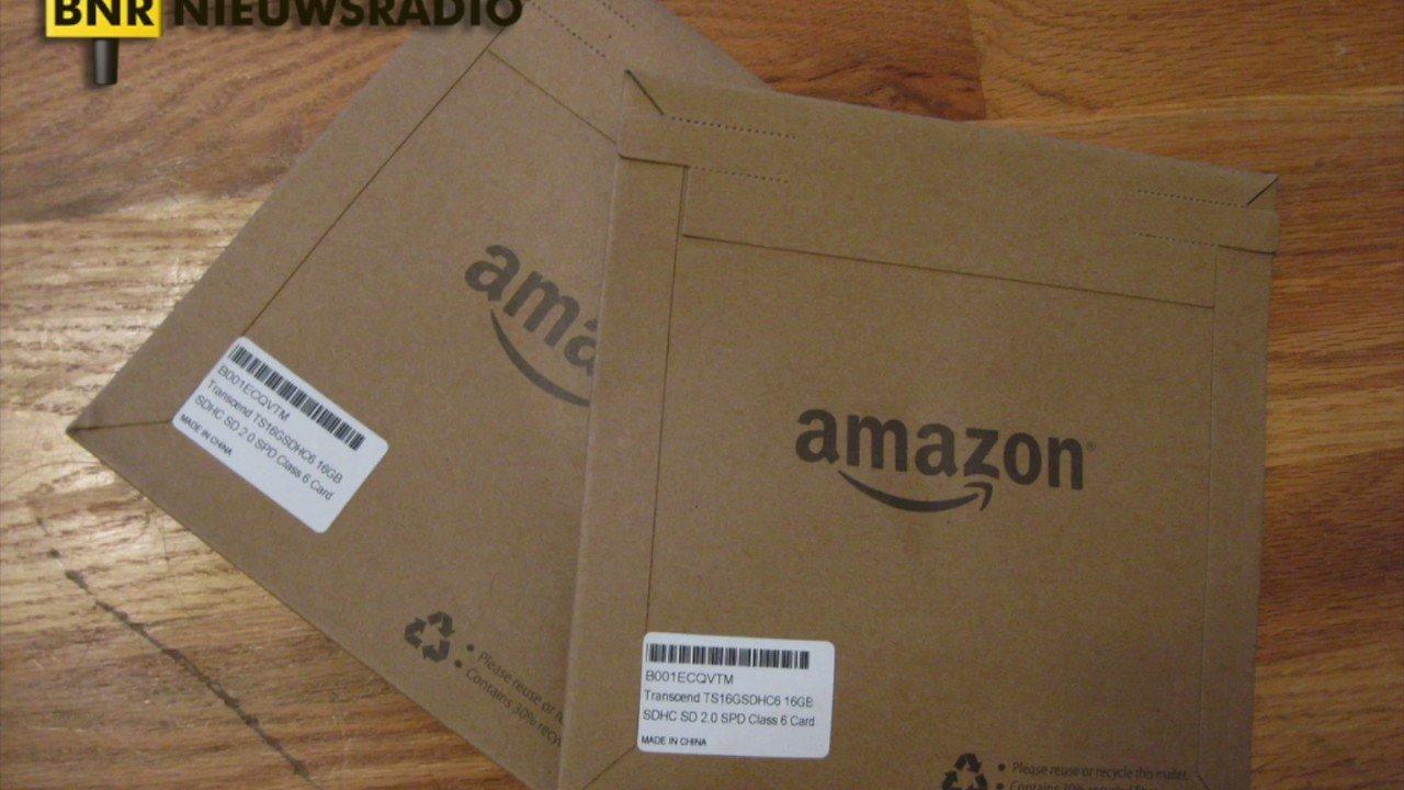 Interview BNR over winstcijfers Amazon