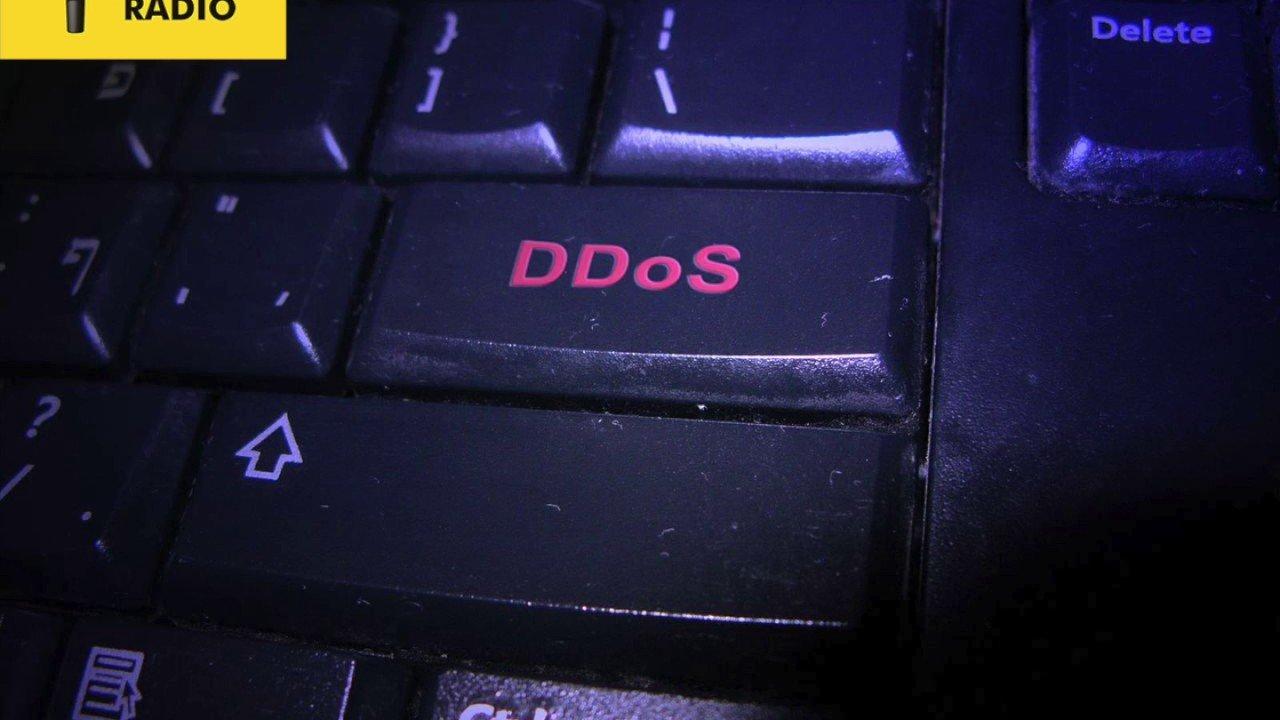 BNR interview DDOS aanval op webshops