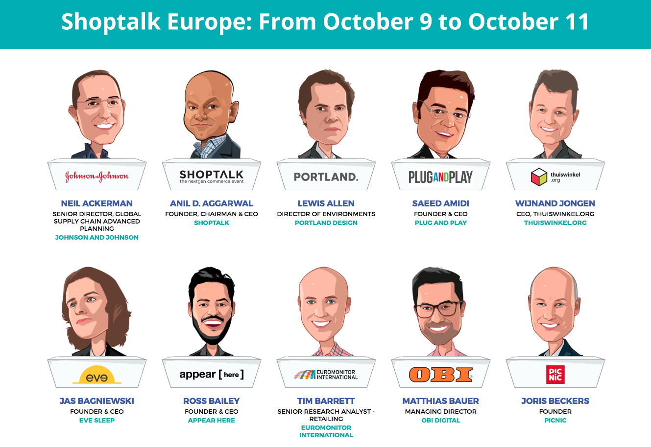 Shoptalk Europe: Order your tickets now!