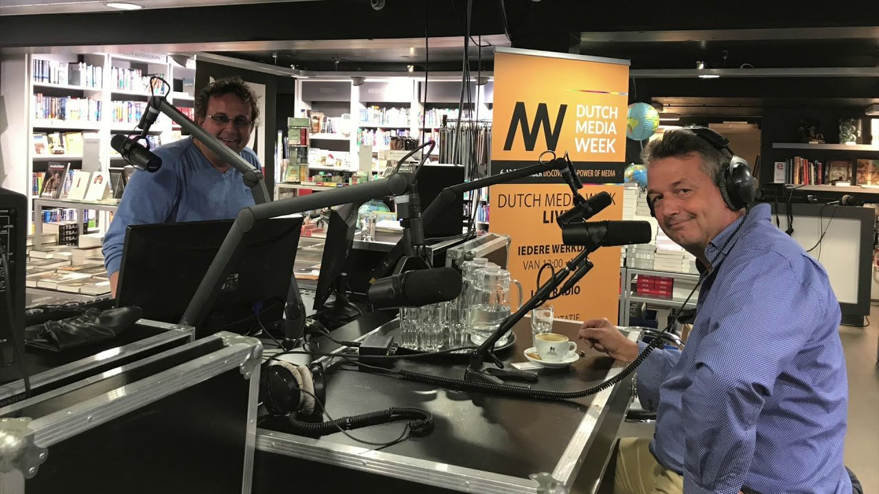 Interview aan New business Radio – Dutch Media Week 2017