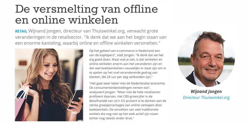 Artikel in Retail bijlage FD – De versmelting van offline en online winkelen