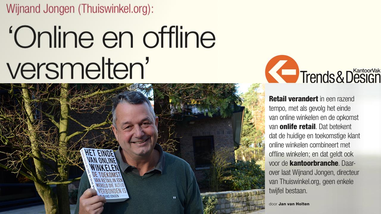 Artikel in KantoorVak – 'Online en offline versmelten'