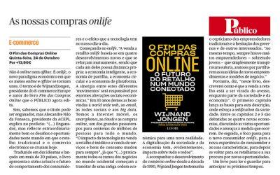 Público Portugal – Artikel Portugese Editie 'Het Einde van Online Winkelen'