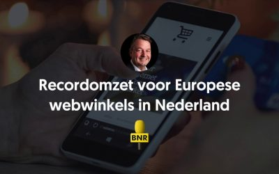 Recordomzet voor Europese webwinkels in Nederland