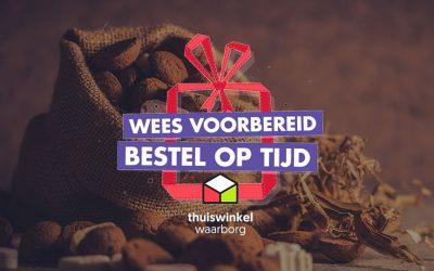 Webwinkels, vervoerders en Thuiswinkel Waarborg starten campagne 'Wees voorbereid – Bestel op tijd'