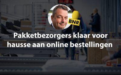 BNR Nieuwsradio Fragment – Pakketbezorgers klaar voor hausse aan online bestellingen