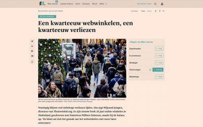 Een kwarteeuw webwinkelen, een kwarteeuw verliezen – Het FD