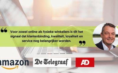 Amazon komt naar Nederland | De Telegraaf & AD