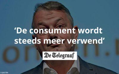 De consument wordt steeds meer verwend | De Telegraaf