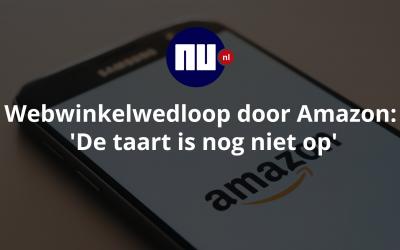 Webwinkelwedloop door Amazon: 'De taart is nog niet op' | Nu.nl