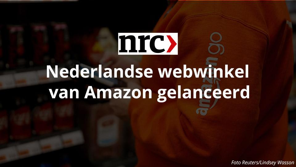 Nederlandse webwinkel van Amazon gelanceerd - NRC