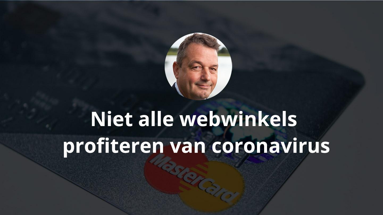 Niet alle webwinkels profiteren van coronavirus