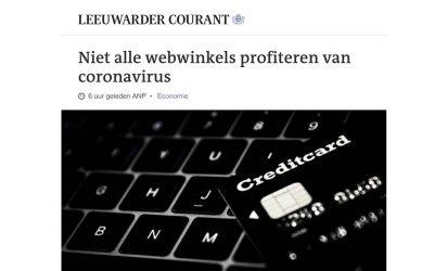 Niet alle webwinkels profiteren van coronavirus – Leeuwarder Courant