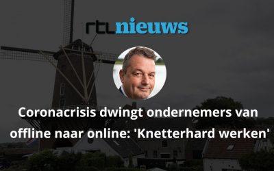 Coronacrisis dwingt ondernemers van offline naar online | RTL Nieuws