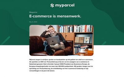 E-commerce is mensenwerk – Artikel MyParcel