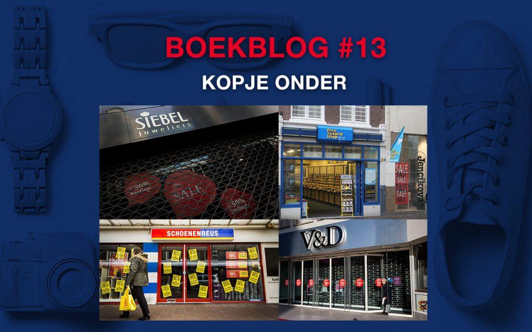 Kopje onder – Boekblog #13