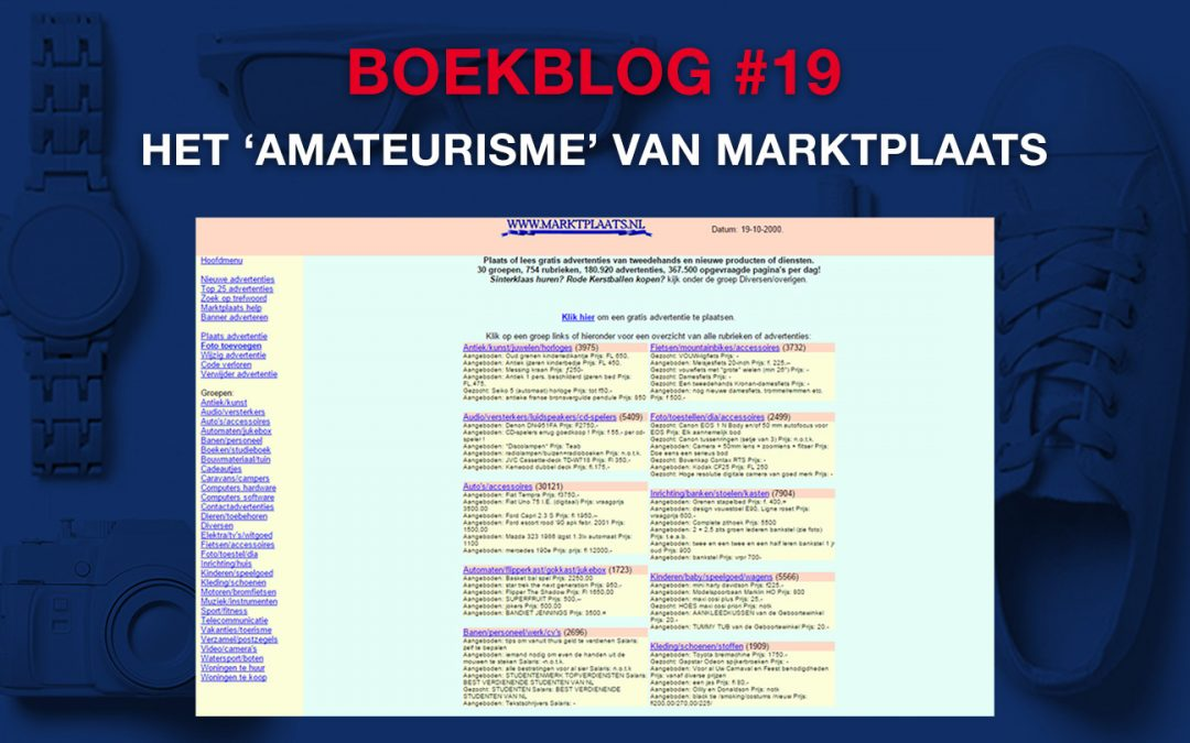 Het 'amateurisme' van Marktplaats – Boekblog #19