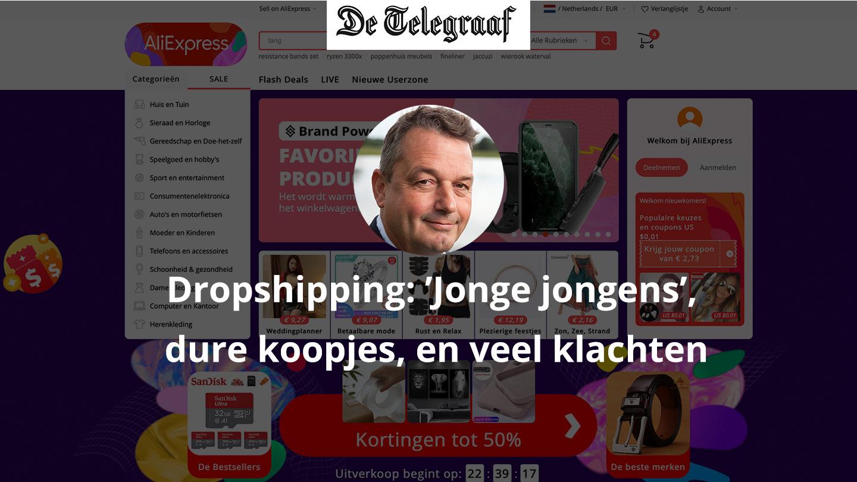 Dropshipping Wijnand De Telegraaf