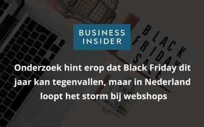 Onderzoek hint erop dat Black Friday dit jaar kan tegenvallen, maar in Nederland loopt het storm bij webshops – Business Insider