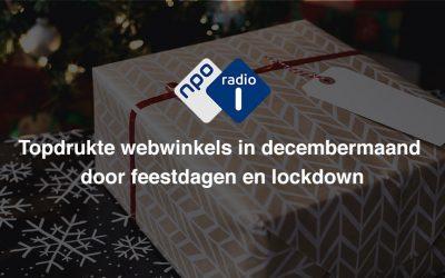 Topdrukte webwinkels decembermaand – NPO Radio 1