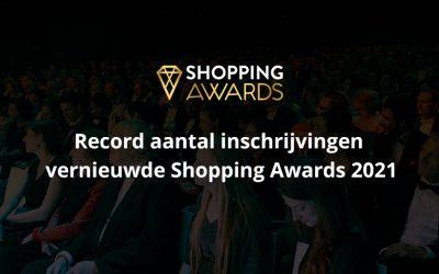 Record aantal inschrijvingen vernieuwde Shopping Awards 2021