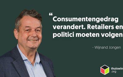 Consumentengedrag verandert. Retailers en ook politici moeten volgen